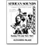mda09. Festival of African Sounds, Alexandra Palace