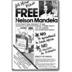 mda10. 'Free Nelson Mandela' 24-hour picket