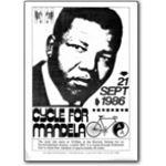 mda11. 'Cycle for Mandela', 1986