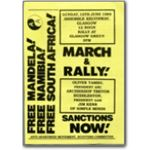 mda22. Glasgow March and Rally