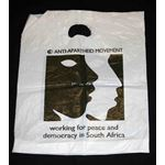 msc27. 'Working for peace and democracy' bag