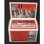 msc28. 'Change for Change' collecting box