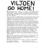 nam07. 'Viljoen Go Home!'