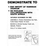 nam09. 'End Import of Namibian Uranium'