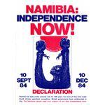 nam17. 'Namibia: Independence Now!', 1984