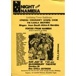 nam32. 'A Night for Namibia'