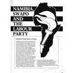 nam45. Namibia, SWAPO and the Labour Party