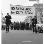 pic6301. 'No British Arms for South Africa' march