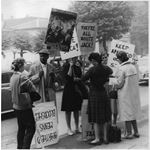 pic6403. Protesters at Wimbledon, 1964