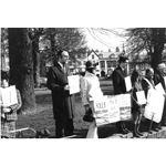 pic7010. Sharpeville 10th anniversary vigil, Exeter