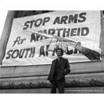 pic7014. 'Stop Arms for Apartheid' rally
