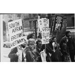 pic7105. Demonstration against PW Botha, 1971
