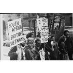 pic7105. Demonstration against PW Botha, 1971
