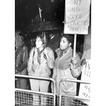 pic8211. Picket of Shirley Bassey concert, Cardiff