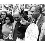pic8413. Demonstration against PW Botha, 1984