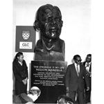 pic8522. Unveiling a bust of Nelson Mandela