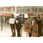 pic8607. 'Boycott the banks who subsidise the slaughter'