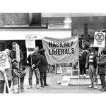 pic8708. Hackney Liberals call for a boycott of Shell