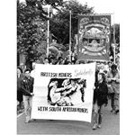 pic8728. Miners march in Nottingham