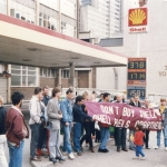 Pic8736. Nottingham Shell picket