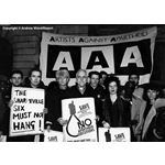 pic8804. Artists Against Apartheid call for the release of the Sharpeville Six