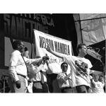pic8824. Nelson Mandela Freedom Rally, Glasgow