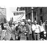 pic8825. Nelson Mandela Freedom March, Glasgow