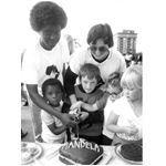 pic8835. Celebrating Nelson Mandela's 70th birthday