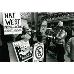 pic8906. 'Apartheid is bankrupt: No debt rescheduling'
