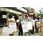 pic8907. 'Boycott Apartheid 89' campaign