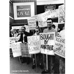 pic8921. Protesting against the cricket tour of South Africa, August 1989