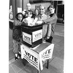 pic9104. 'Vote for Democracy' campaign
