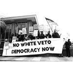 pic9201. 'No White Veto: Democracy Now'