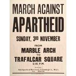 po002. March Against Apartheid, 3 November 1963