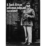 po016. A South African policeman, judge and executioner