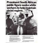 po019. Prominent South African public figure seeks white workers