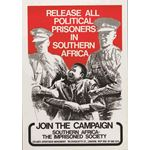 po026. Release All Political Prisoners in Southern Africa Join the Campaign