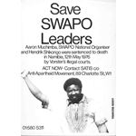 po028. Save SWAPO Leaders