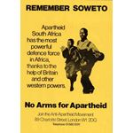 po029. Remember Soweto No Arms for Apartheid