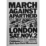 po079. March Against Apartheid