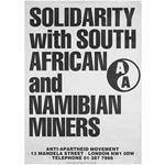 po090. Solidarity with South African and Nambian Miners!