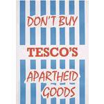 po096. Don't Buy Tesco's Apartheid Goods