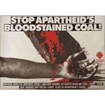 po109. 'Stop Apartheid's Bloodstained Coal!'