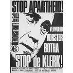 po118. Stop Apartheid! Stop de Klerk!