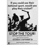 po119. Stop the Tour! Boycott Apartheid Cricket!