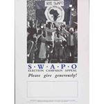 po120. SWAPO Election Campaign Appeal