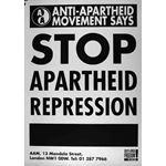 po124. Stop Apartheid Repression