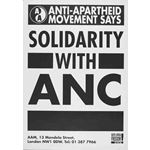 po127. Solidarity with the ANC!