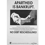 po131. Apartheid is Bankrupt. No Debt Rescheduling