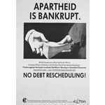 po131. Apartheid is Bankrupt. No Debt Rescheduling